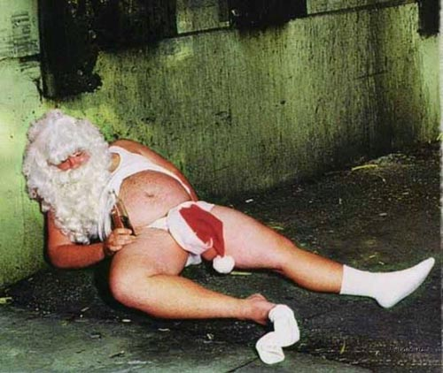 Even more Drunk Santa