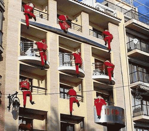 Santa Climbers