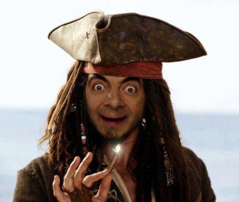 Captain Bean Pirate