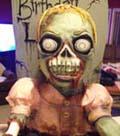 zombie cake photo