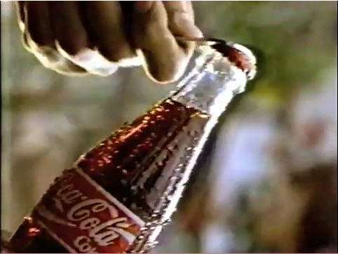 coca-cola commercial caption