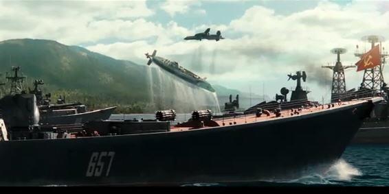 X-man first class battle scene image