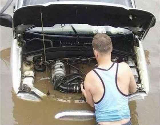 water pump failure