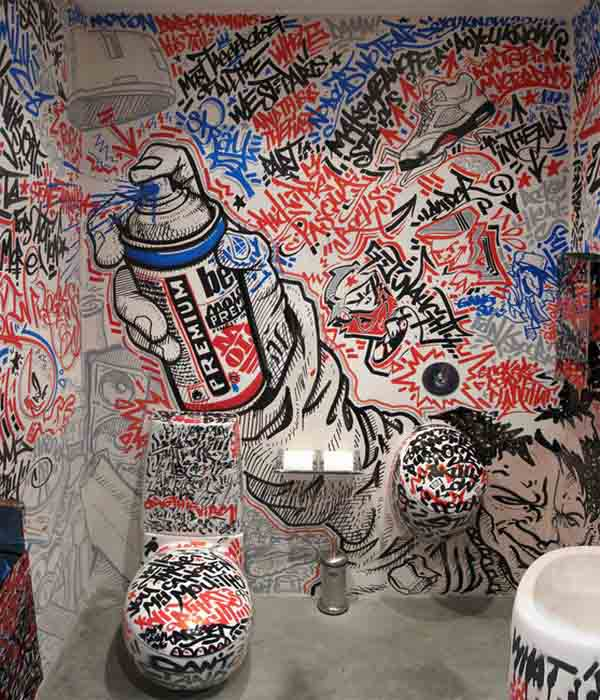 Amazing toilet drawings 3