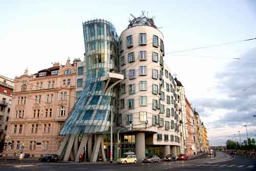 controversial building in Prague