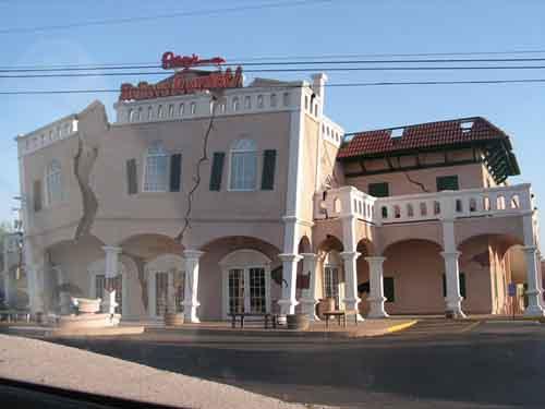 Amazing strange building