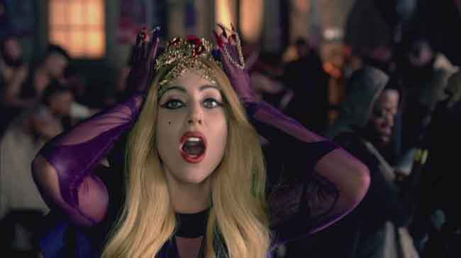 Lady Gaga Crown