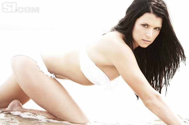 Danica Patrick amazing bikini babe and racing driver
