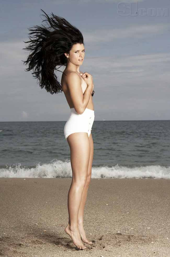 amazing Danica Patrick in motion photo