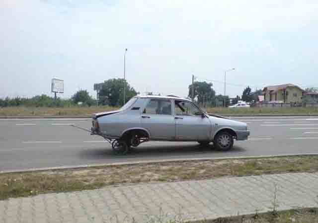 Funny car futuristic design