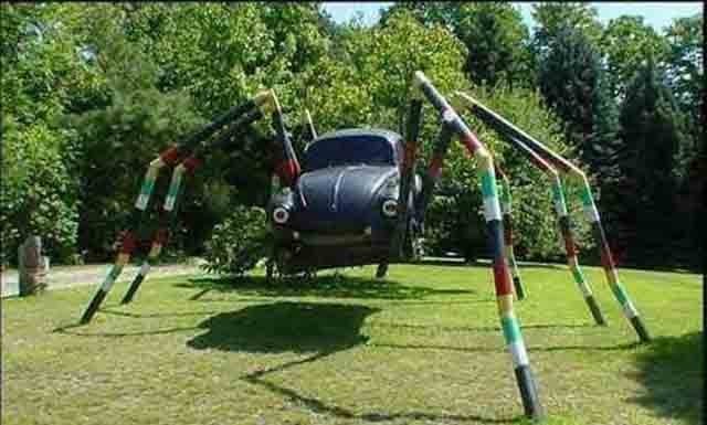 spider car design