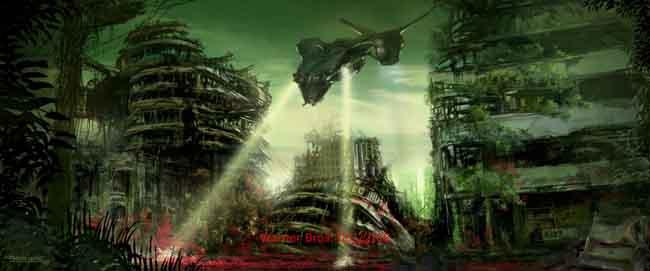 futuristic scenario