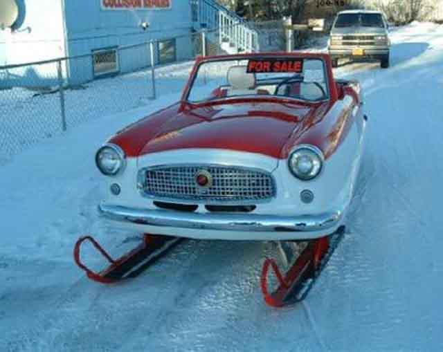 snow car design