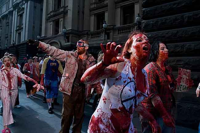 bizarre zombie photo