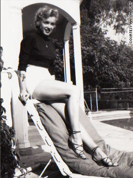 Marilyn Monroe unseen image