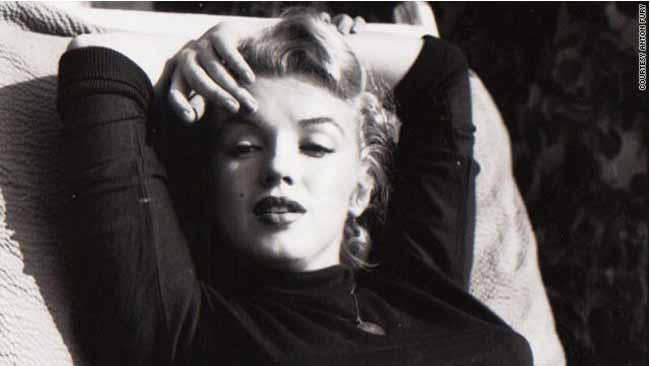 beautiful unseen image of  Marilyn Monroe 