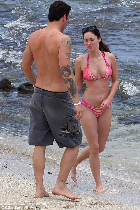 Megan Fox sexy Teeny Bikini