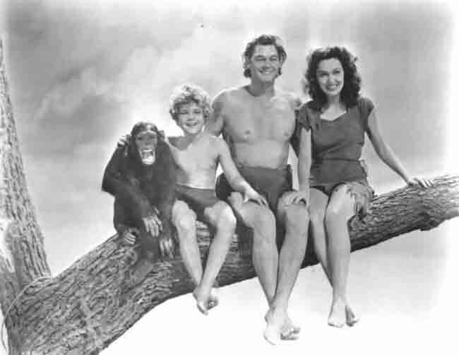 retro hero Tarzan
